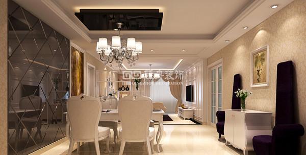 徜徉集三居室户型餐厅效果图展示