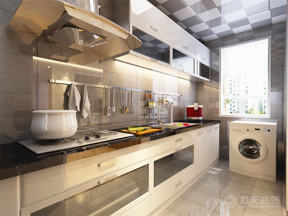 简约 二居 白领 收纳 旧房改造 80后 小资 厨房图片来自阳光力天装饰梦想家更爱家在北宁湾2室2厅88平米的分享