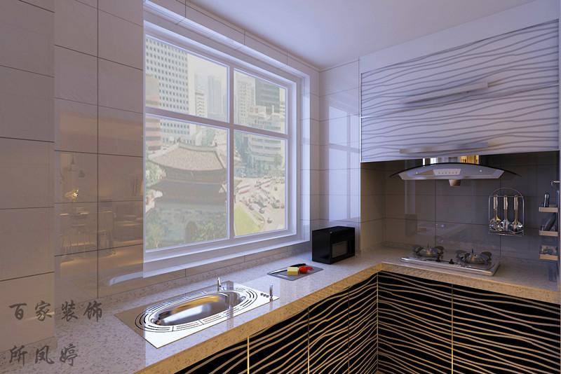 厨房图片来自百家装饰-小敬在惠民新苑的分享