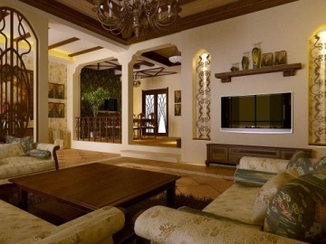 碧桂园400别墅美式风格