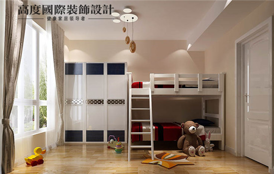 小孩梦想中的房子,上下铺的床