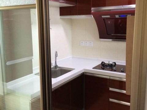简约 白领 收纳 旧房改造 80后 厨房图片来自今朝装饰李海丹在温馨实用60㎡老房改造的分享