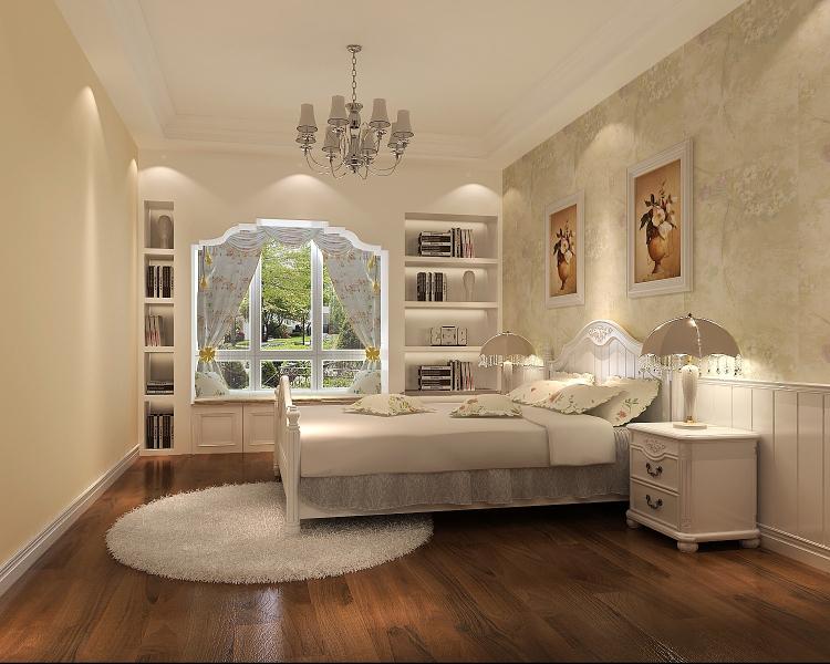 田园 卧室图片来自高度国际宋书培在中粮祥云两居室装饰效果图的分享