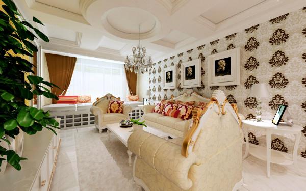 简约 欧式 田园 混搭 三居 白领 收纳 80后 小资 客厅图片来自百家装饰小姜在华发岭南荟158平欧式风格的分享