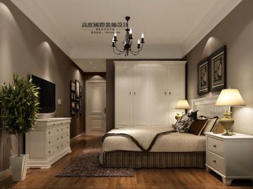 果岭classs 简约美式公寓装饰