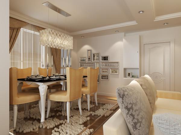 简约 欧式 田园 混搭 二居 白领 收纳 80后 小资 餐厅图片来自百家装饰小姜在嘉榆新城80平现代风格的分享