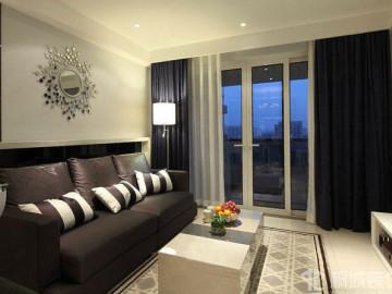 80平米两居室淳朴简约型