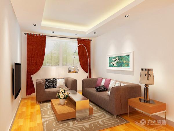 该户型是海河华鼎一期2号楼2层A3-03户型1室2厅1卫1厨 105.86㎡。该设计风格为北欧风格。