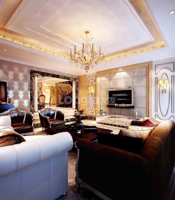 欧式别墅设计整体室内设计在满足居家基本功能之外,更注重于居家生活品质与休闲享受这两种需求的强化处理。