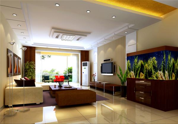 设计风格以现代简约为主,设计中别具匠心的保留原始的房高,在不压抑的情况下既装饰中央空调又使房间充满了层次感。