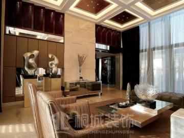 金地荔湖城B型别墅现代奢华风格