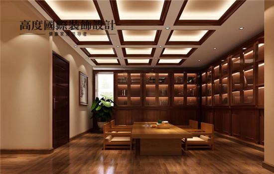 简欧 装修 设计 四居 书房图片来自高度老杨在鲁能七号院 四室三厅四卫 简欧的分享