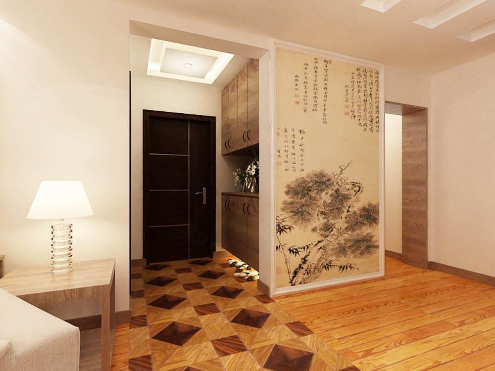 新中式 其他图片来自阳光放扉er在泰达风景-148平米-新中式风格的分享
