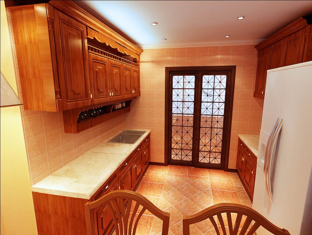 欧式 二居 白领 收纳 80后 小资 厨房图片来自阳光放扉er在泰达河与海-110㎡-欧式风格的分享