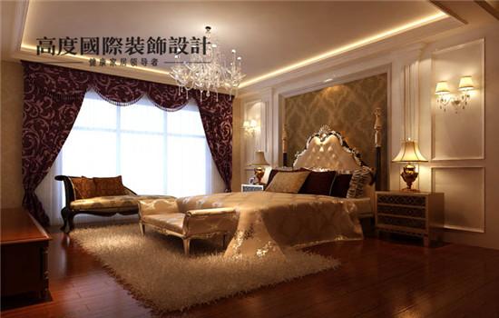 简欧 装修 设计 四居 卧室图片来自高度老杨在鲁能七号院 四室三厅四卫 简欧的分享