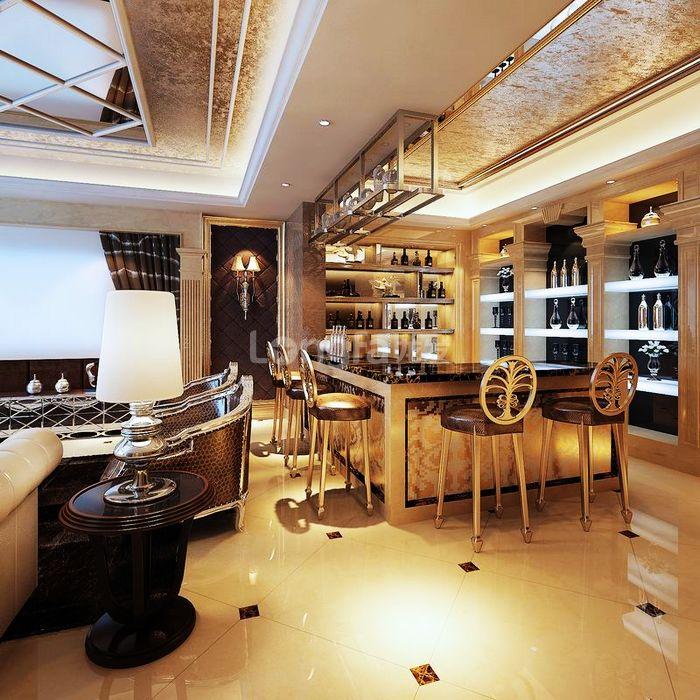 欧式 别墅 龙湖盛景 龙发装饰 装修设计 厨房图片来自龙发装饰集团西安分公司在龙湖盛景380欧式舒适的浪漫情调的分享