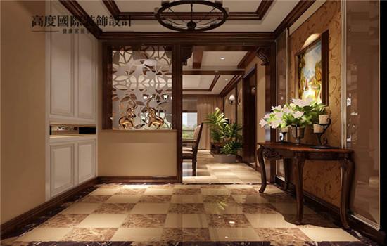 艺术感十足的门厅 让客人来您家的第一印象深刻