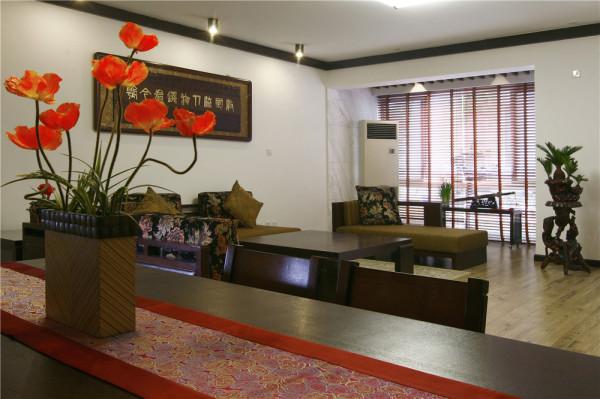 现代中式客厅,大气、品质、高端