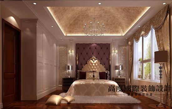 欧式 装修 设计 卧室图片来自高度老杨在鲁能七号院 复式 180平 欧式的分享