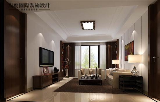 宽敞的客厅,简约的风格,时尚感丰富