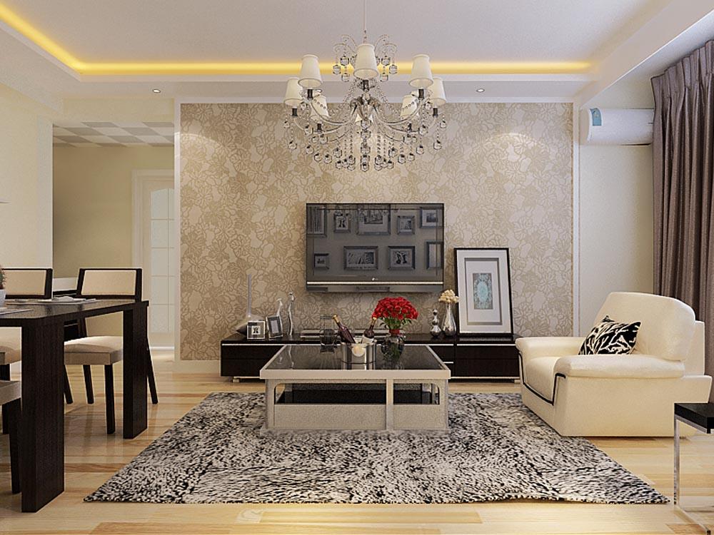 客厅图片来自阳光放扉er在金域国际-81㎡-现代简约的分享