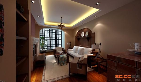 客厅得以大气优雅为主,设计以不矫揉造作的材料营造出豪华感,使人感到既创新独特又似曾相识的生活居所。