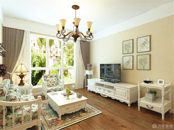 本案为颐和家园2室1厅1厨1卫76.36㎡的户型。这次的设计风格定义为田园风格。