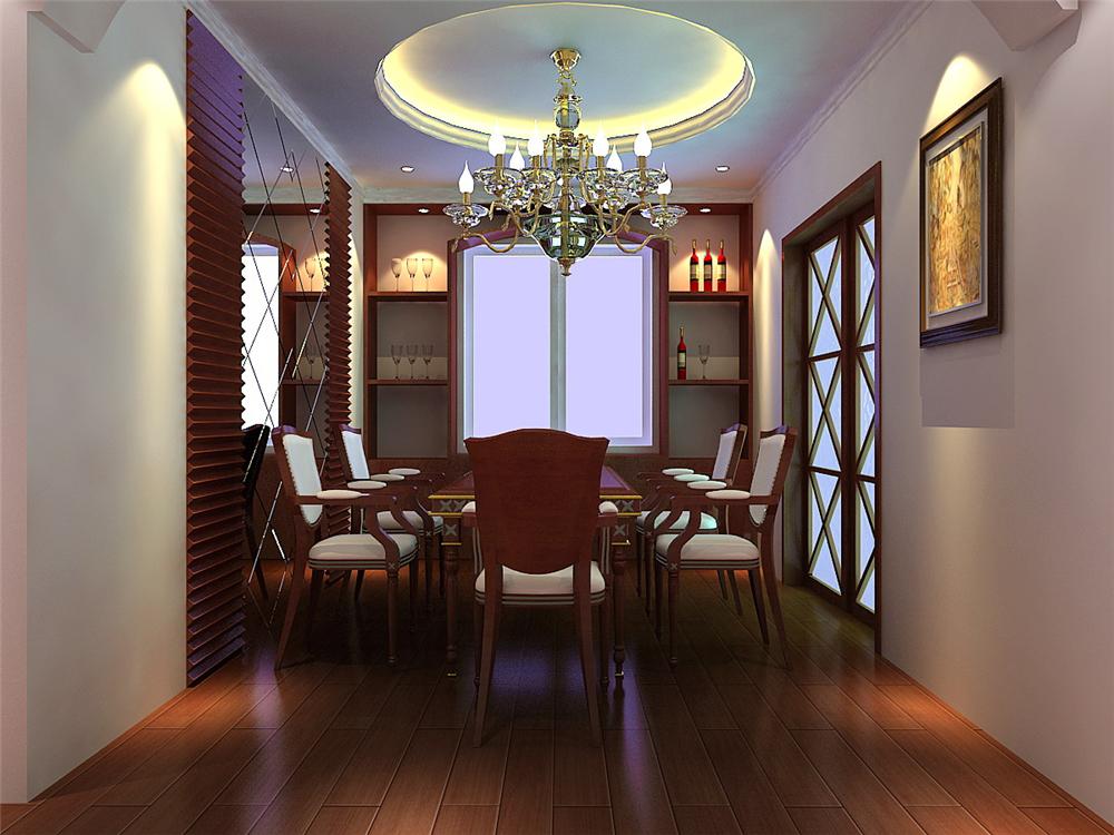 田园 三居 白领 收纳 80后 小资 餐厅图片来自实创装饰完美家装在紫金新干线201平大宅案例赏析的分享