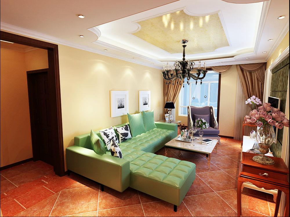 欧式 二居 白领 收纳 80后 小资 客厅图片来自阳光放扉er在泰达河与海-110㎡-欧式风格的分享