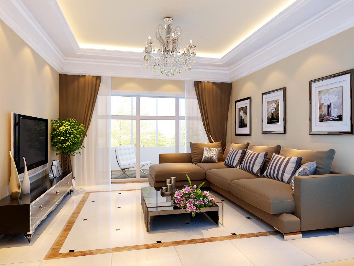 客厅图片来自今朝装饰小徐在k2海棠湾  185平现代简约风格的分享