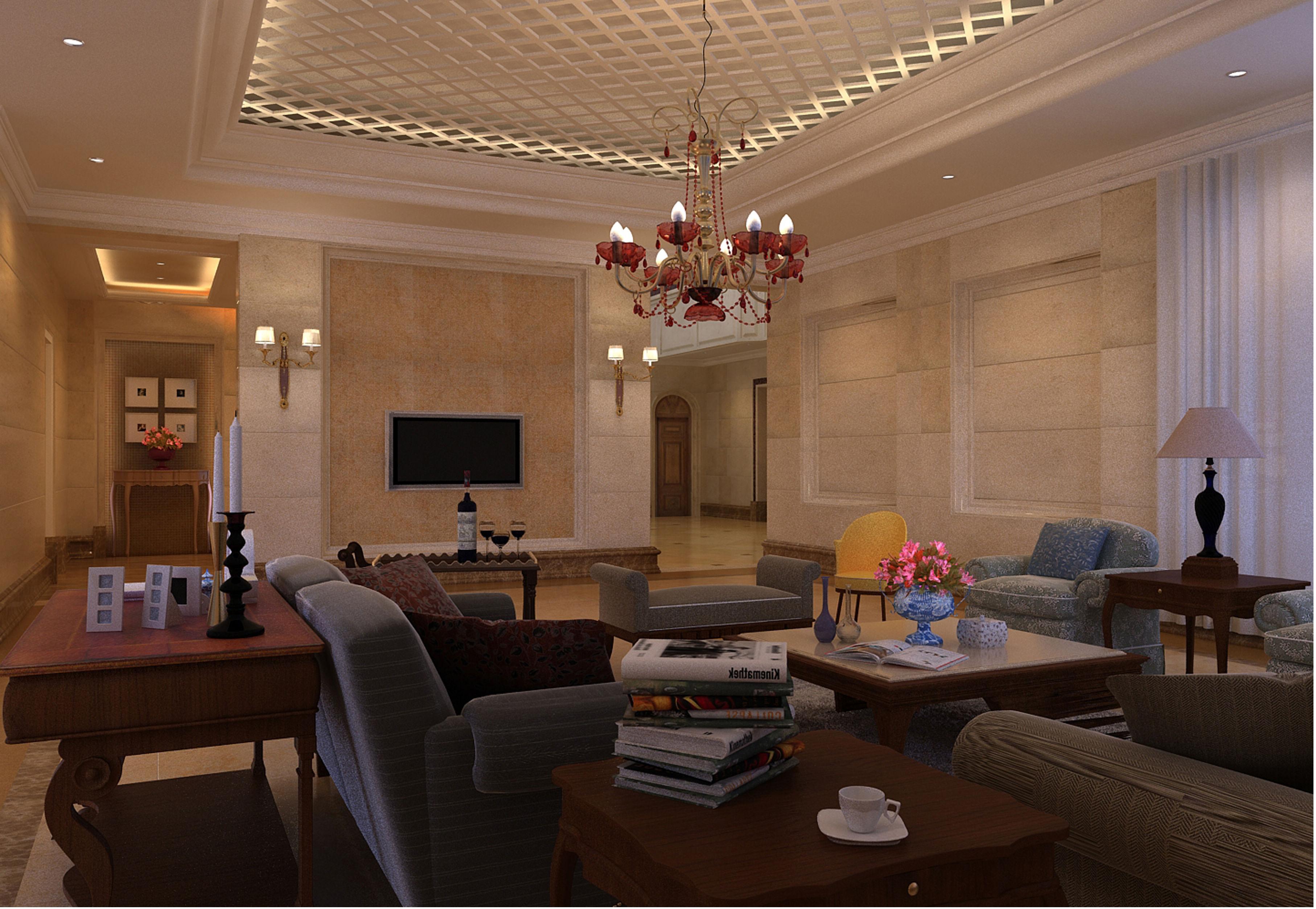 简约 欧式 客厅图片来自框框在康城花园 简欧风格别墅设计的分享