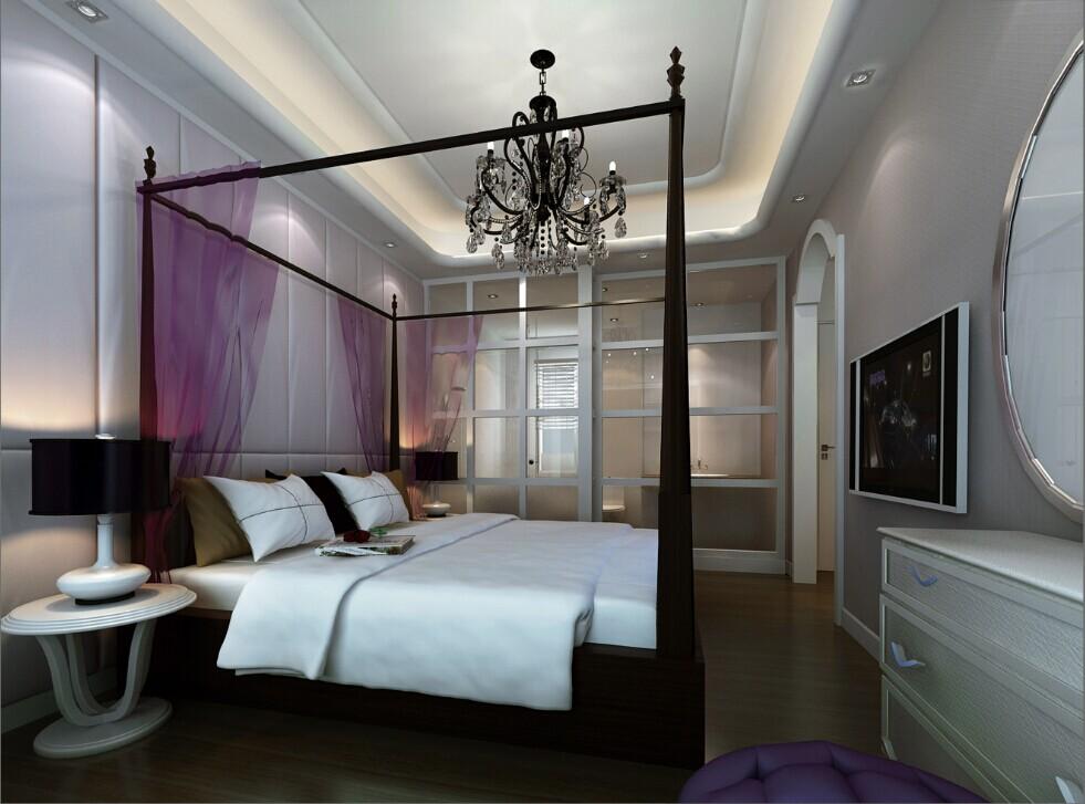 成都装修 装修案例图 现代简约 装修效果图 装修公司 卧室图片来自成都家和装饰在凯德风尚94㎡现代简约风格施工中的分享
