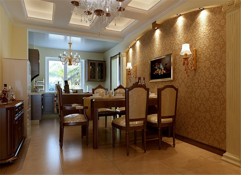 欧式 别墅 白领 收纳 80后 小资 餐厅图片来自实创装饰完美家装在西棕榈滩151平简欧风格案例赏析的分享