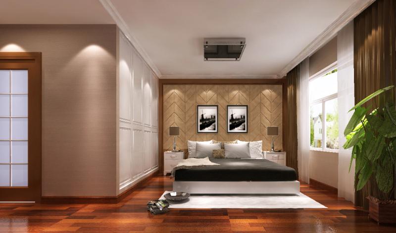三居 现代 高度国际 卧室 旧房改造 混搭 空间 卧室图片来自高度国际装饰王伟在金色漫香苑案例的分享