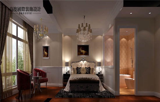 托斯卡纳 五居 装修 设计 卧室图片来自高度老杨在鲁能七号院 五室两厅二卫的分享