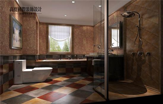 托斯卡纳 五居 装修 设计 卫生间图片来自高度老杨在鲁能七号院 五室两厅二卫的分享
