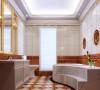 在欧式风格的家居空间里,灯饰设计应选择具有西方风情的造型,比如壁灯,在整体明快、简约、单纯的房屋空间里,传承着西方文化底蕴的壁灯静静泛着影影绰绰的灯光,朦胧、浪漫之感油然而生。