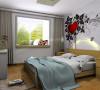 客厅以简单的线条配以简洁的家具,和强烈的色彩对比,给人一种释放减压的环境。