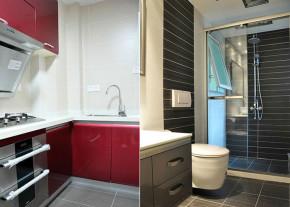 简约 现代 小清新 厨房 卫生间 厨房图片来自成都幸福魔方装饰工程有限公司在萦绕心头那一抹抹绿的分享