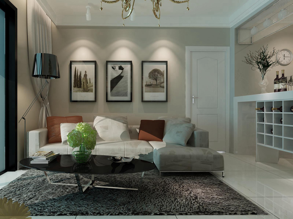 客厅图片来自tjsczs88在首创装饰-华亭丽园的分享