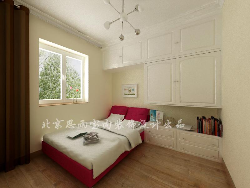简约 旧房改造 二居 卧室图片来自思雨易居设计在【原创】75平现代简约风的分享