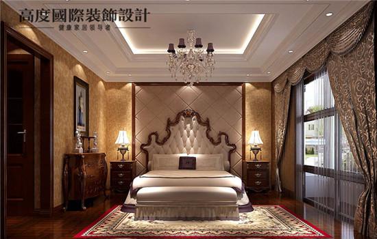 欧式 新古典 装修 设计 卧室图片来自高度老杨在中景未山赋 欧式新古典主义的分享