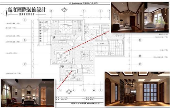 托斯卡纳 五居 装修 设计 户型图图片来自高度老杨在鲁能七号院 五室两厅二卫的分享