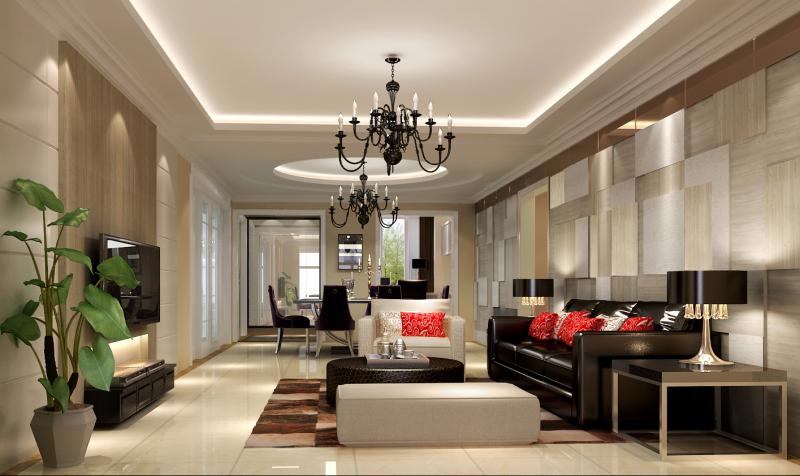 三居 现代 高度国际 卧室 旧房改造 混搭 空间 客厅图片来自高度国际装饰王伟在金色漫香苑案例的分享