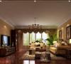 东湖湾公寓简约美式风格案例