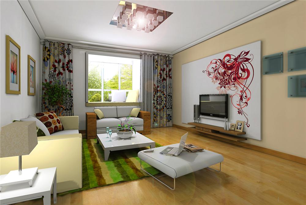 简约 二居 白领 收纳 80后 小资 客厅图片来自实创装饰完美家装在紫金新干线B1户型简约时尚设计的分享