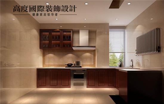 三居 新中式 装修 设计 厨房图片来自高度老杨在四合上院 三室两厅两卫 新中式的分享