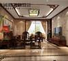 典型中式风格的客厅