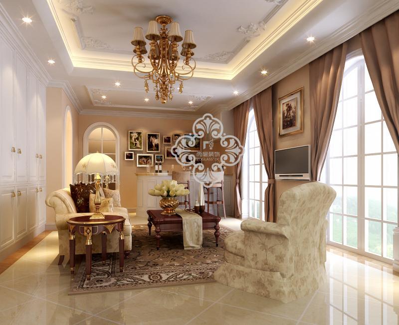 欧式 简欧风格 别墅装修 别墅设计 客厅图片来自天津别墅装修公司在呈现贵族般品味,豪华舒适的欧式的分享
