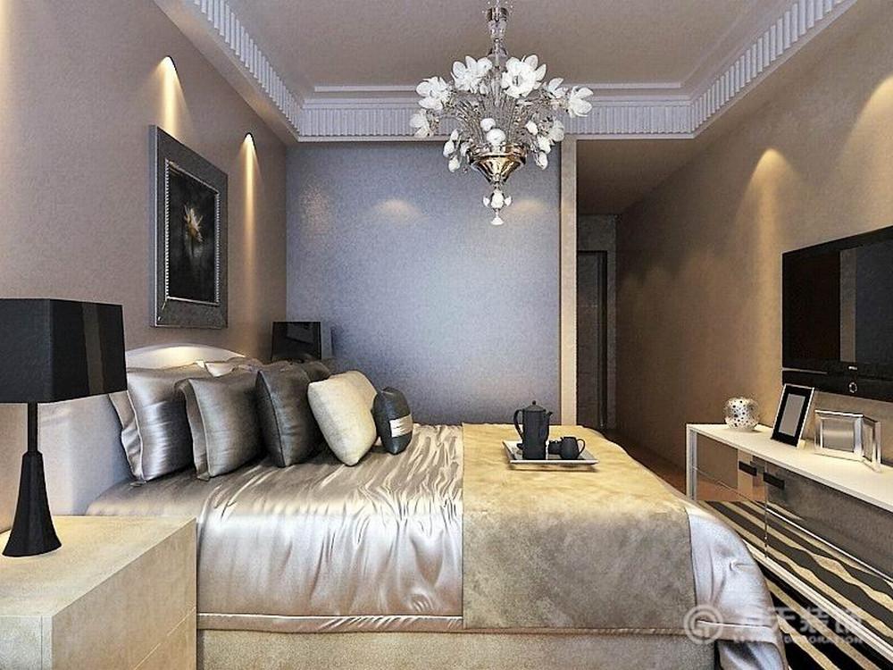 简约 二居 收纳 白领 80后 小资 卧室图片来自阳光力天装饰在金融街和平中心-114㎡-简约的分享